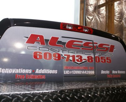 Window Perforated Vinyl for Vehicles