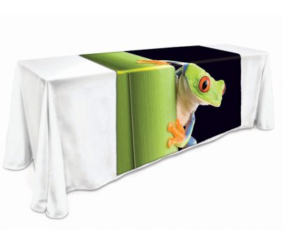 "Large Table Runner 57""W Full Color Dye Sublimation"