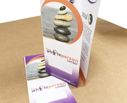 die cut brochures wholesale