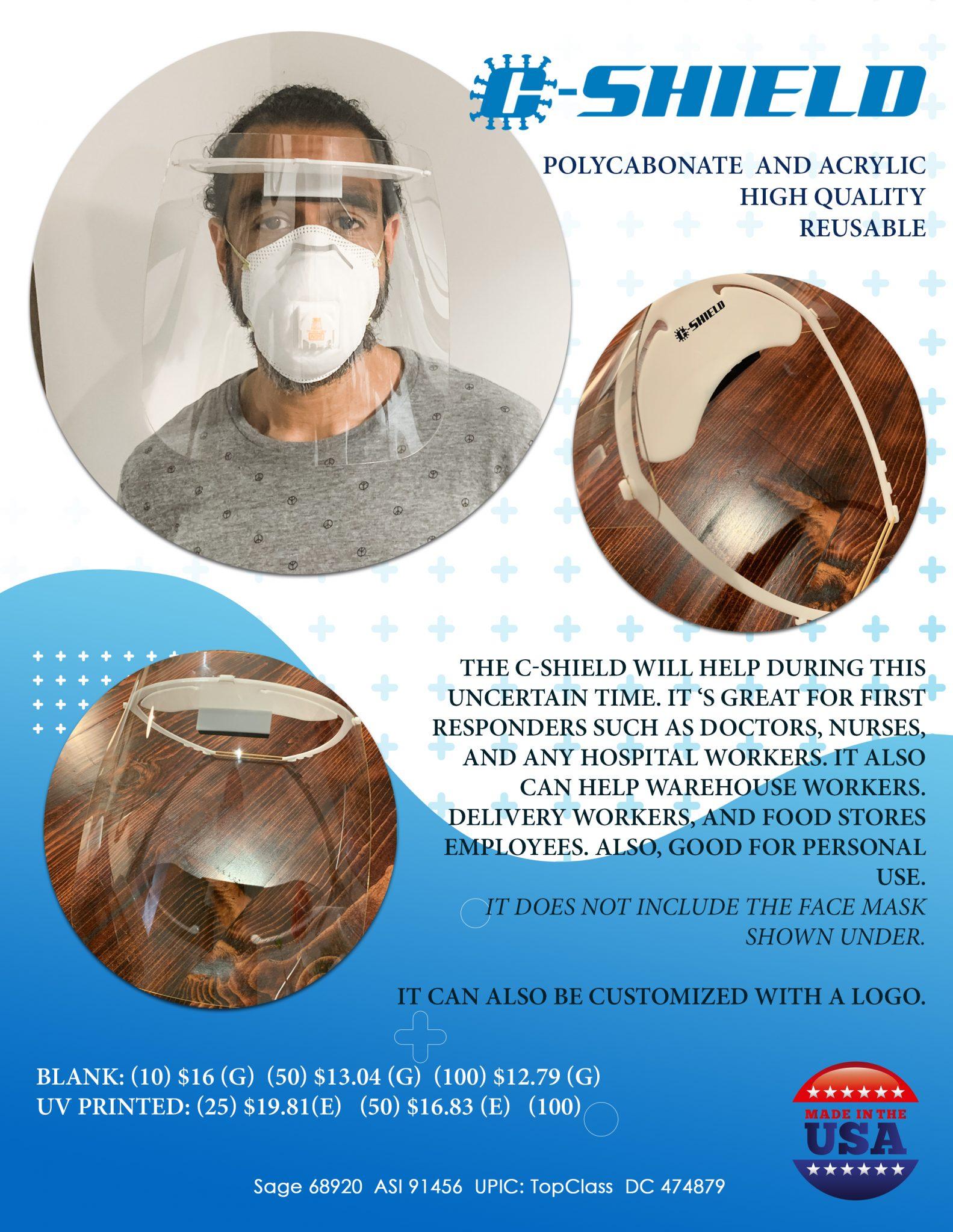 Wholesale Reseller Face Shields
